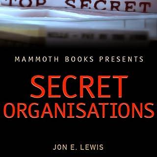 Mammoth Books Presents: Secret Organisations audiobook cover art