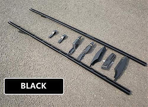 Portaequipajes para coches Barras de techo for el ajuste for Land Rover Discovery 3 4 LR3 LR4 2003-2017 aluminio de aleación rieles portaequipajes Bar barras superiores for los bares Rail Cajas