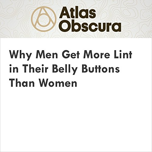 Why Men Get More Lint in Their Belly Buttons Than Women audiobook cover art
