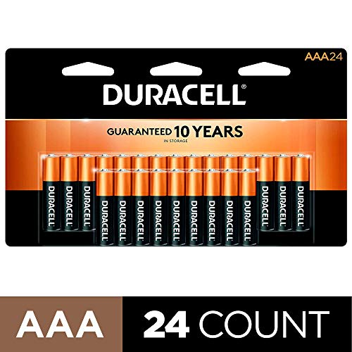 Duracell - CopperTop AAA Alkaline Batteries - long lasting, all-purpose Triple A battery for...