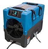 Dri-EAZ F413 Revolution LGR Compact Dehumidifier, Portable, Up to 17 Gallons/Day