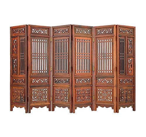 potente para casa Una mampara compuesta por 6 paneles, una mampara de estancia abatible, una mampara de mesa,…