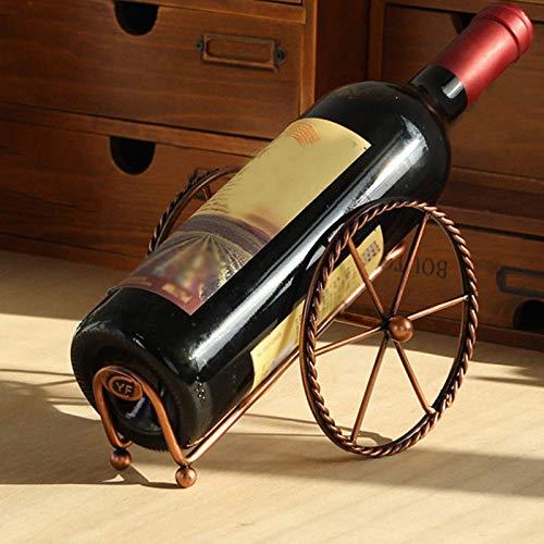 chx LLEGADOS Retro Creativo Sala De Estar Vino Decoración De La Decoración Caliente Venta De Vino Soporte Metal Europeo Estante De Vino Decoración