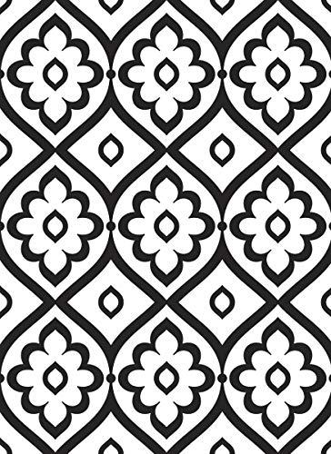 Darice 30032607 Prägeschablone, Prägefolder Marokkanische Fliesen, plastik, durchsichtig, A6