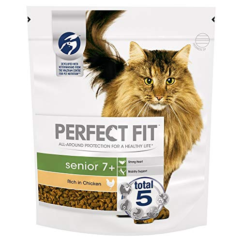 Perfect Fit Katzenfutter Trockenfutter Senior 7+ (3 x 750g)