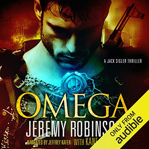 OMEGA (A Jack Sigler Thriller - Book 5)  By  cover art