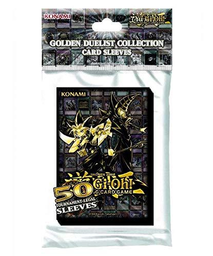 Yu-Gi-Oh! KONGDCS - Custodia per carte di credito, confezione da 50 pezzi