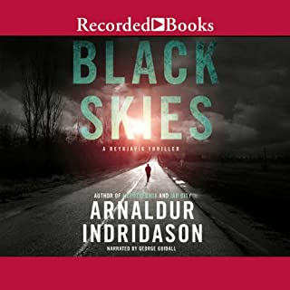 Black Skies audiobook cover art