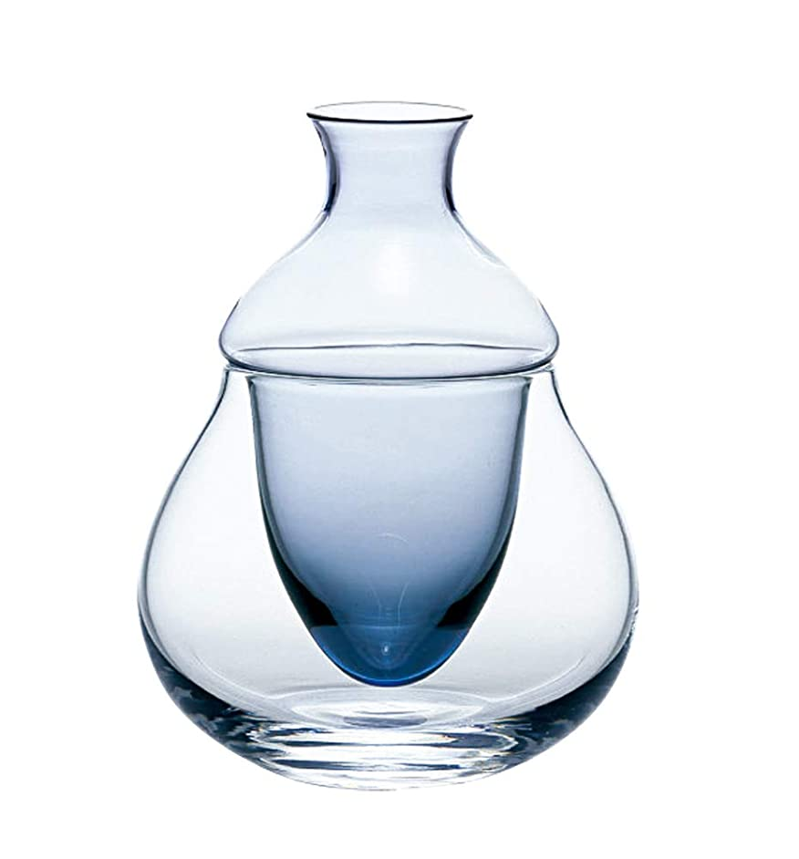 Orient Carafe variation (with ice pocket) cold sake Carafe