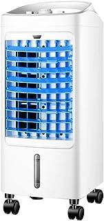 Clocks Climatizador Evaporativo Aire Acondicionado 3 Velocidades Depósito De 4.5 litros 75W Casa/Oficina Mecánica Blanco 24x26x61.5cm