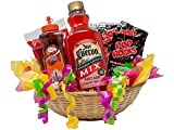 Strawberry Margarita Gift Basket | Cocktail/Mocktail Gifts