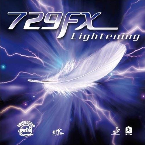 Friendship 729Super FX Lightning––schütt Tenis de Mesa, negro, 2.2