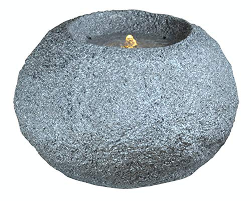 Heissner Gartenbrunnen Grey Rock LED (016634-09)