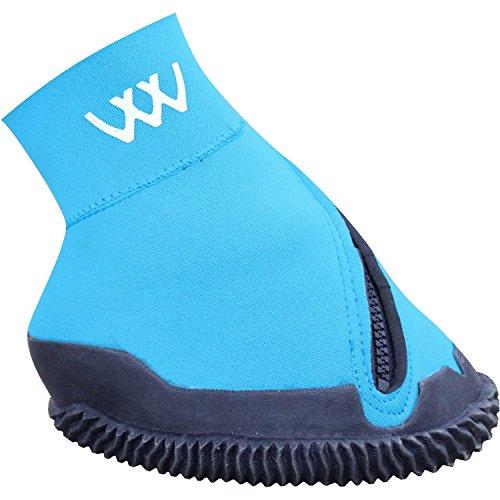 Woof Wear ściśle dopasowane, medyczne buty dla konia, na kopyta, niebieskie NIEBIESKI 6