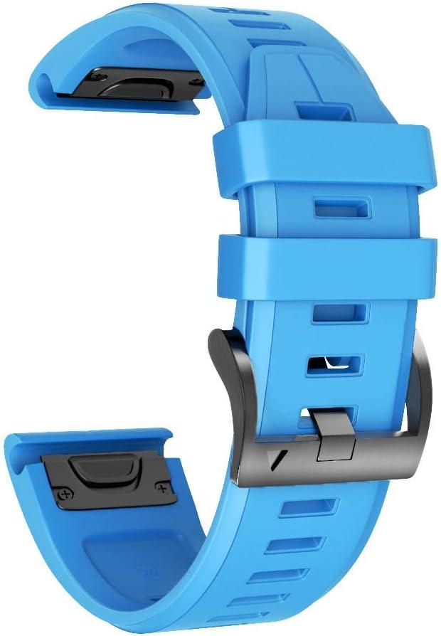 Malla azul Para Reloj Garmin Fenix 5x/fenix 5x Plus/fenix 6x