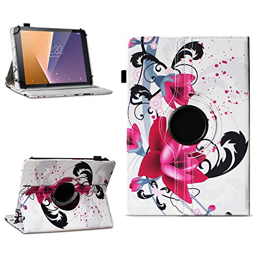 na-commerce Tablet Schutzhülle Vodafone Tab Prime 6/7 360° drehbar Tasche Cover Hülle Etui, Farben:Motiv 7