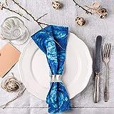 Runde Serviette Ringe für Hochzeit Bankett Dinner Party Hotel Serviette Ringe 6 Stück - 3