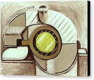 Tommervik Tennis Aficionado Tennis Player Tennis Art Tennis Wall Art Tennis Gifts For Tennis Players Tennis Ball Art Wimbledon Art Gallery Wrapped Canvas Print