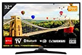 TV LED Full HD 80 cm Hitachi 32HE4000 - Tlviseur LCD 32 pouces - TV Connecte : Smart TV - Netflix - Tuner TNT/Cble/Satellite