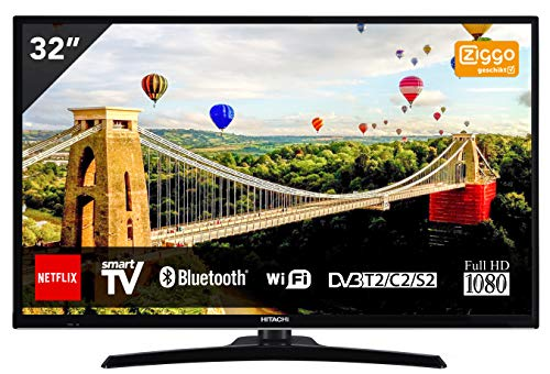 Comprar TV Hitachi TV Smart TV 32 pulgadas 32HE4000 Opiniones