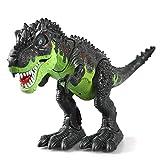 Dinosaurier, KINGBOT Electronic Dinosaurier, Spielzeug, Walking Dinosaurier mit Blitzen und Tönen...