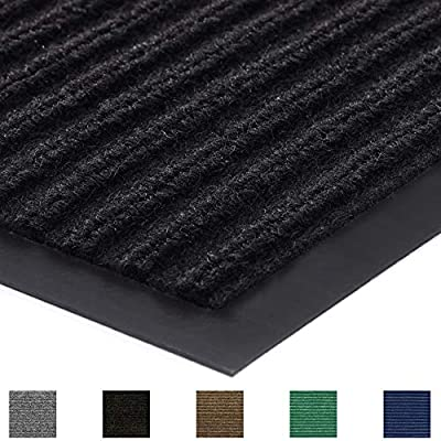 Gorilla Grip Original Commercial Grade Rubber Floor Mat, Heavy Duty, Durable Doormat for Indoor and Outdoor, Waterproof, Easy Clean, Low-Profile Rug Mats for Entry, Patio, High Traffic Areas