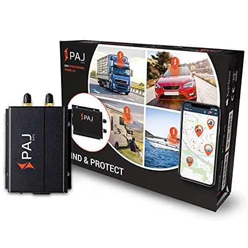 PAJ GPS Professional Finder 3.0 GPS Tracker Auto, Motorrad, Fahrzeuge und LKW´s Diebstahlschutz mit Direktanschluss an KFZ-Batterie...