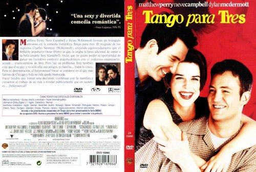 TANGO PARA TRES DVD