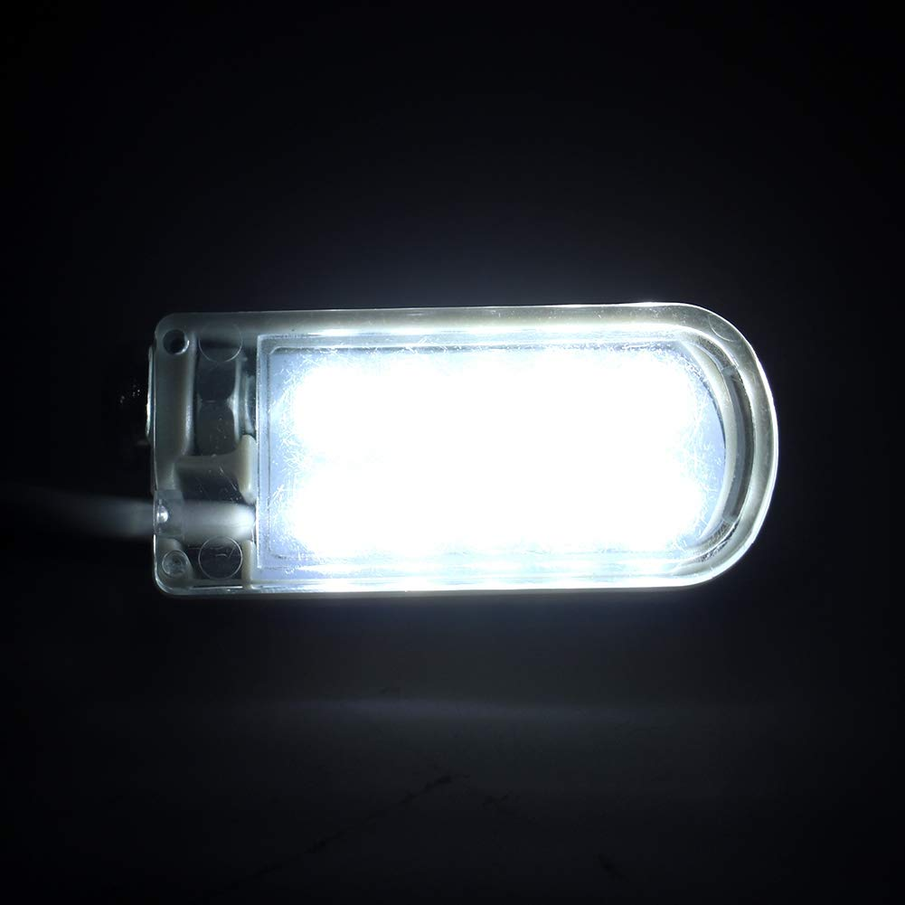 Cosiki Lámpara de Cuello de Cisne de Trabajo con luz LED Base ...