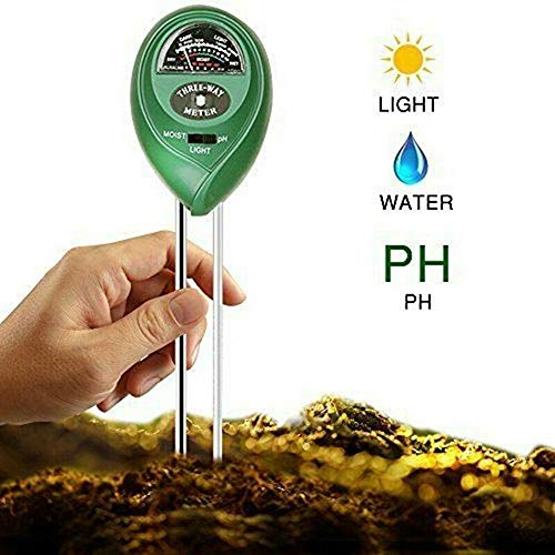 Best Buy! N-ING New 3 in1 PH Tester Sunlight Soil Moisture Meter Detector Garden Lawn Plant,from USA...