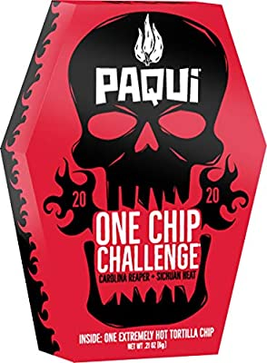 2020 Paqui One Chip Challenge, 0.21oz Box from Amplify Snacks
