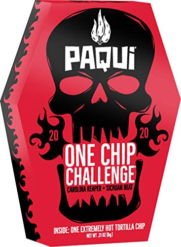 Paqui 2020, One Chip Challenge, 0.21 Ounce