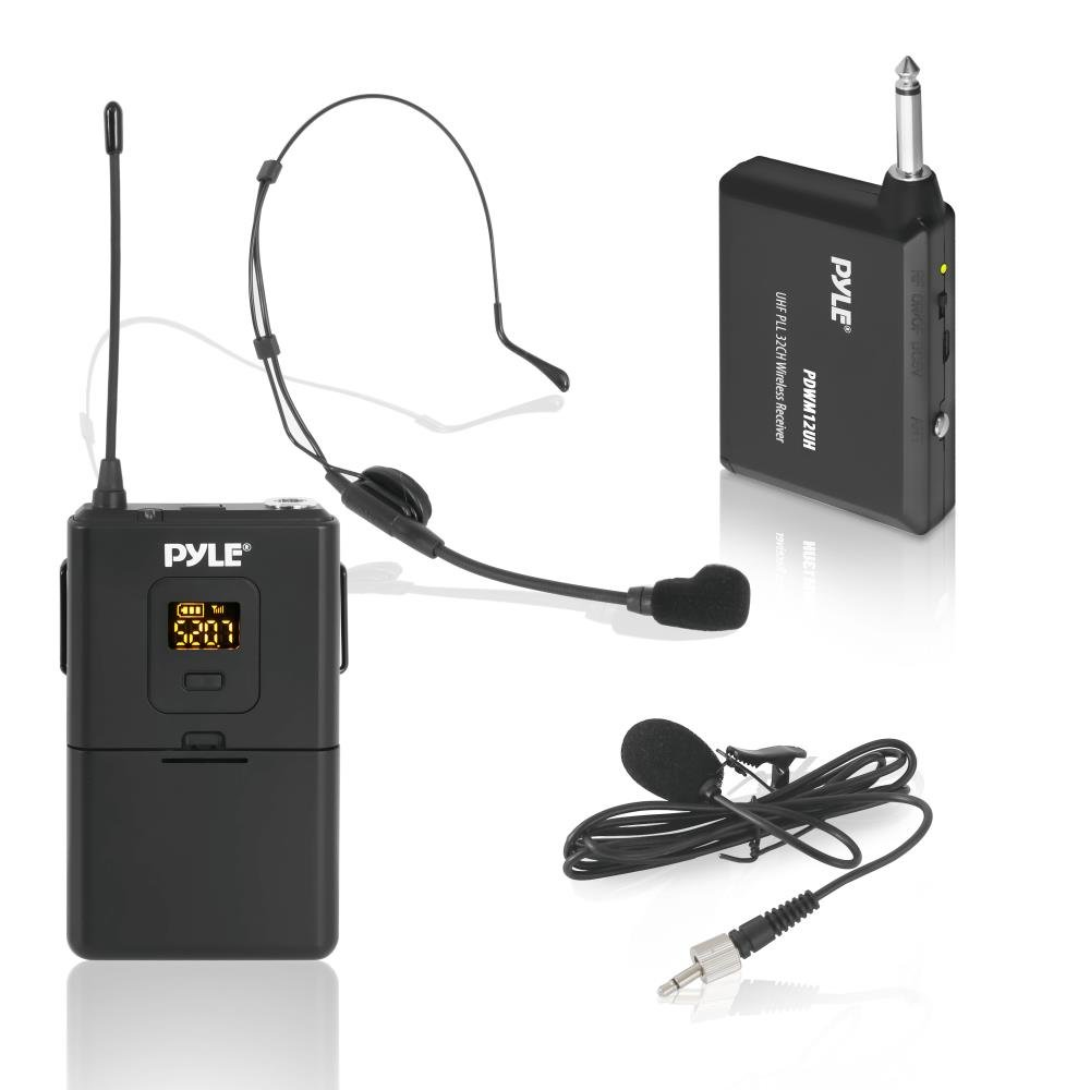 Pyle UHF 32 Channels Wireless Microphone