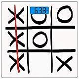 Escala digital de peso corporal de precisión Square Xo Báscula de baño de...