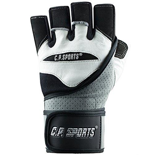 "C.P.Sports Fitnesshandschuhe ""Perfekt-Grip-Bandagen Handschuh Gr.L"" TOP DESIGN 2014 – Bodybuilding & Kraftsport - 2"