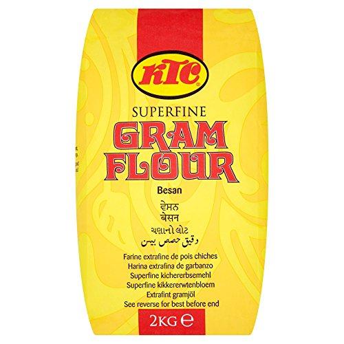 KTC - Gram Flour mąka ciecierzyca 2 kg, Chana Dal