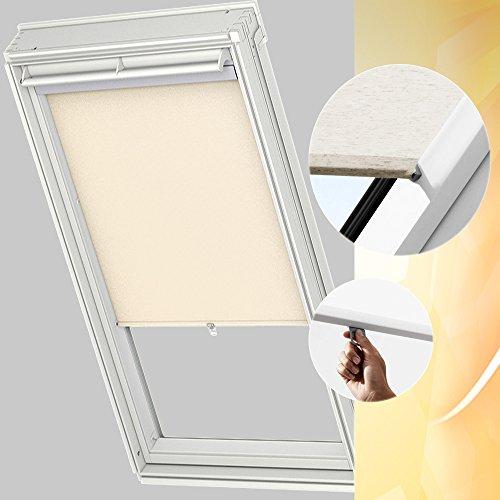 VELUX Sichtschutzrollo Haltekrallen RHL FK00 1086 für Kunststoff-Fenster GGU - FK06