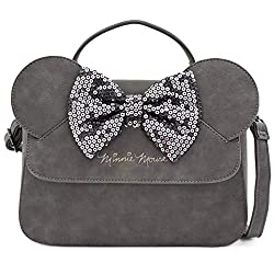 Minnie Mouse Sequin Bow Crossbody Bag
