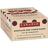 Larabar Gluten Free Bar Chocolate Chip Cookie Dough, 1.6 oz Bars (16 Count)