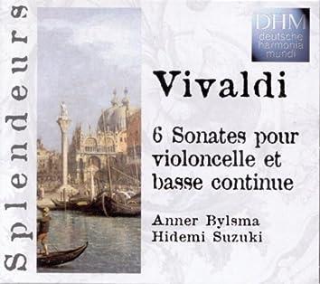 Vivaldi: 6 Sonatas Violoncelle Et Basse Continue