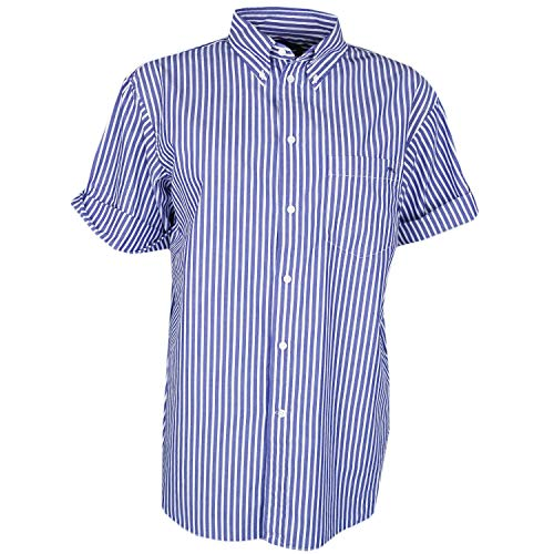 Ralph Lauren Damen Blouson Bluse Gr. XS, blau
