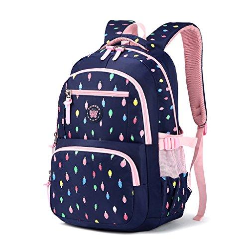 Mädchen Rucksack Rucksack, Schultasche für Kinder Kleinkinder Studenten Bookbag Lässiger Tagesrucksack Laptop Rucksack Outdoor Reisetasche - Idee für Mädchen Alter 3 4 5 6 7 8 9 10 Jahre alt - Blau