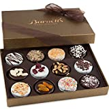 Barnett's Chocolate Cookies Gift Basket, Gourmet Christmas Holiday...