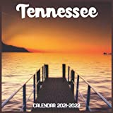 Tennessee Calendar 2021-2022: April 2021 Through December 2022 Square Photo Book Monthly Planner Tennessee small calendar