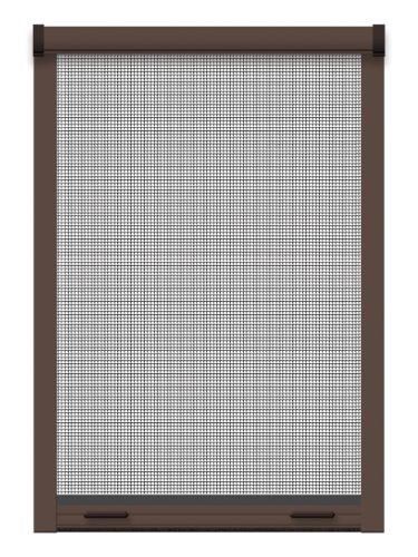 Schellenberg 50823 Insektenschutz-Klemmrollo PREMIUM, Fliegengitter Rollo für Fenster , 100 x 160 cm