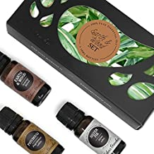 Edens Garden Earth & Wood 3 Set, Best 100% Pure Essential Oil Aromatherapy Starter Kit (for Diffuser & Therapeutic Use), 10 ml