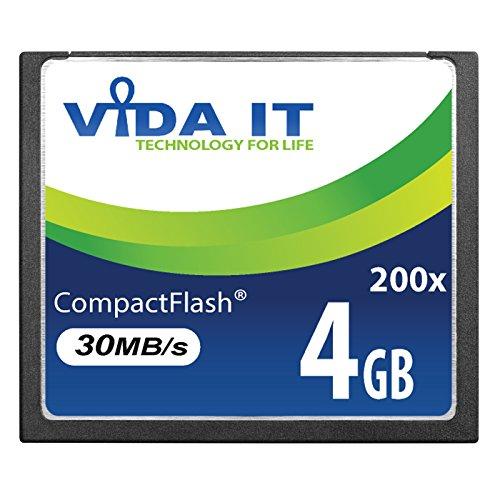 NEW 4 GB 200 x CF Compact Flash de alta velocidad tarjeta de memoria para Canon EOS 10D EOS 20Da EOS 300D EOS 30D EOS 350D EOS 400D EOS 40D EOS 50D EOS 5D Mark II EOS 7D EOS D30 SLR Cámara DIGITAL UK