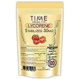 Lycopene – 30mg per Capsule – Stabilized, Microencapsulated Formula – Tomato Extract – Vegan – Zero Additives (60 Capsule Pouch)