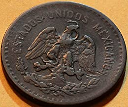 M0017 Mexico 1915 5 Centavos
