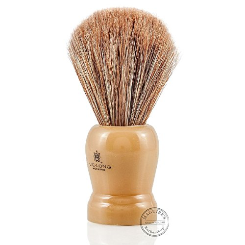 Horse Hair Shaving Brush with Cream Handle shave...